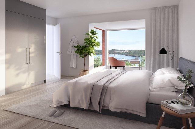 alexander white neutral toned modern style bedroom