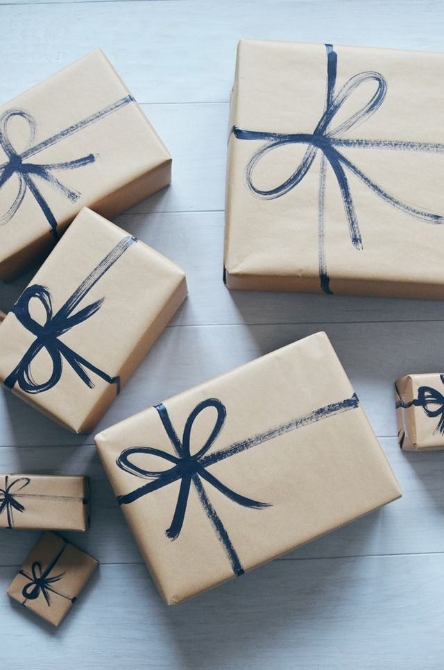 kraft paper gift