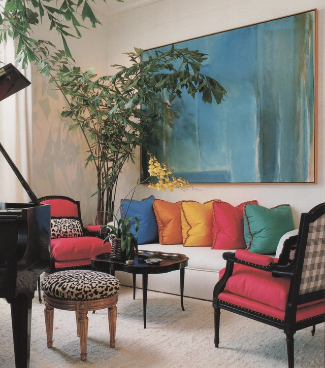 1990s home decor trends primary colors
