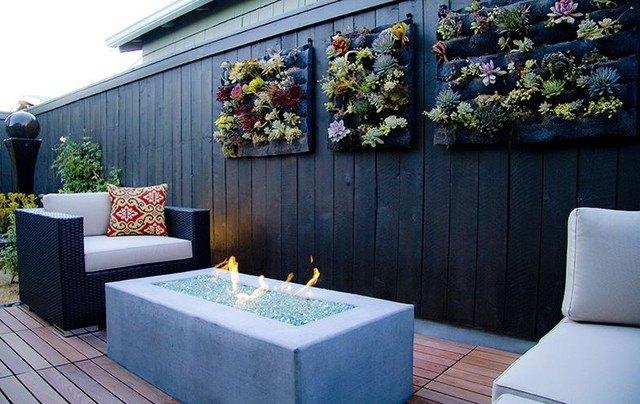 eco-friendly backyard