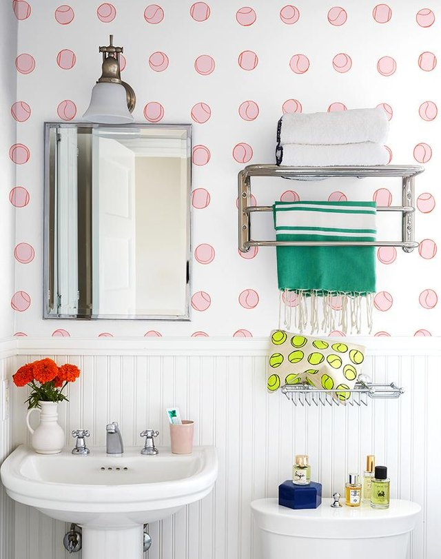 1. Set The Tone With Wallpaper.