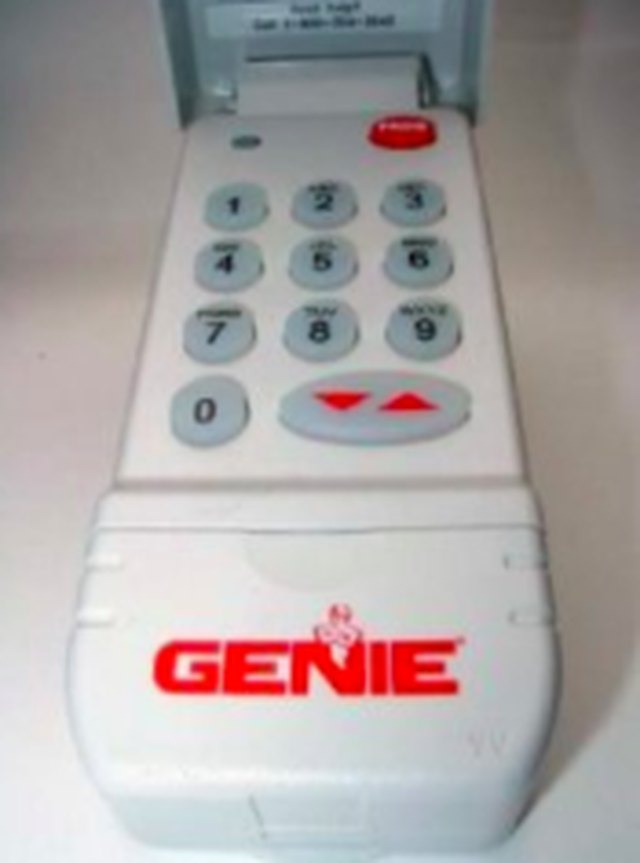 Genie Intellicode Programming >> How to Program a Genie Intellicode Wireless Keypad | Hunker