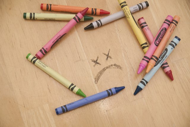 how to get crayon off of a wood coffee table hunker