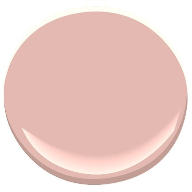 Pink paint sample