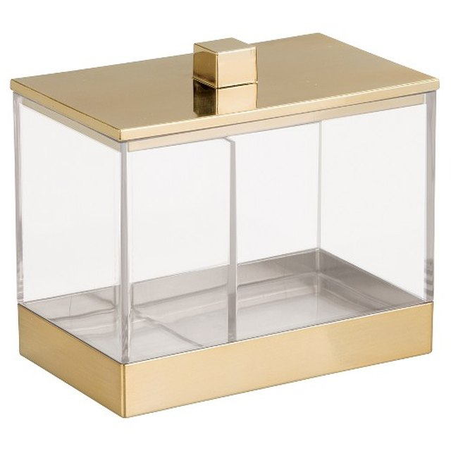 Bathroom Vanity Canister with Dividers