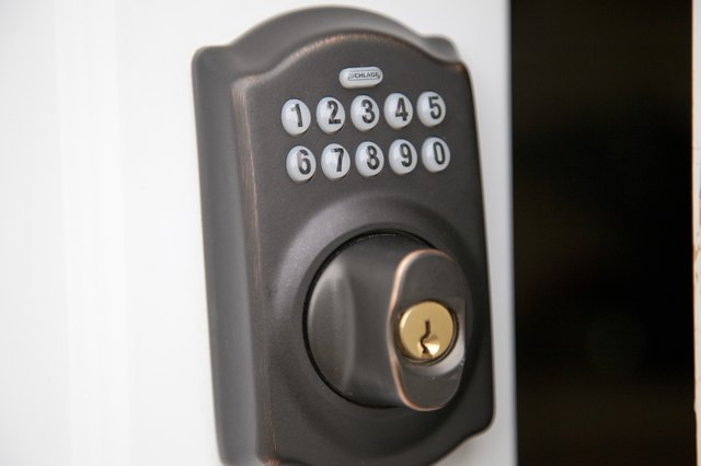 How To Change The Code On A Schlage Keyless Entry Hunker