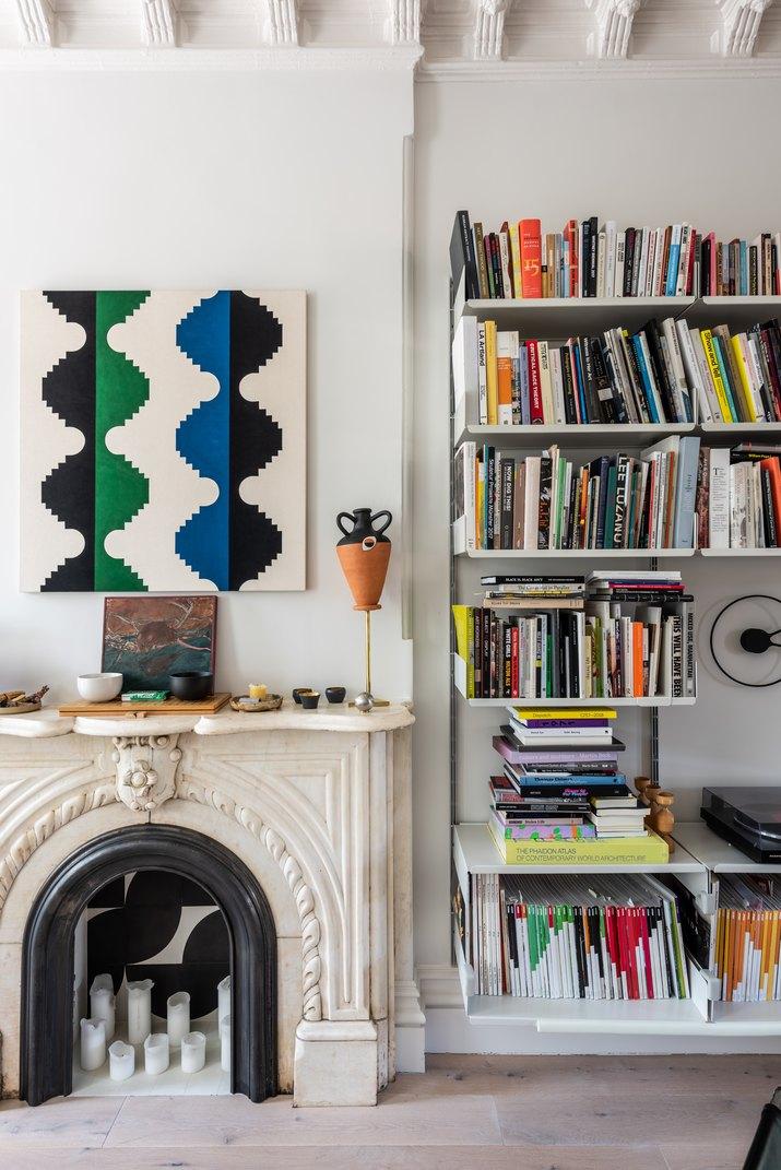scandi minimalist living room