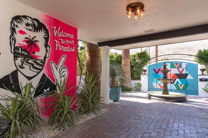 Villa Royale hotel in Palm Springs