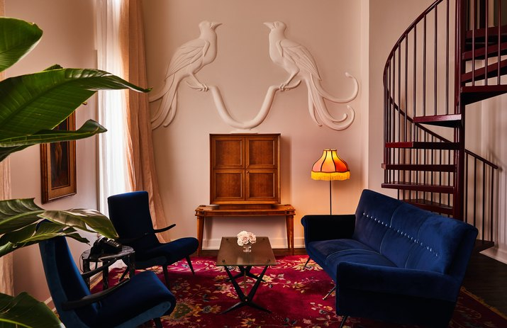siren hotel detroit Penthouse Suite