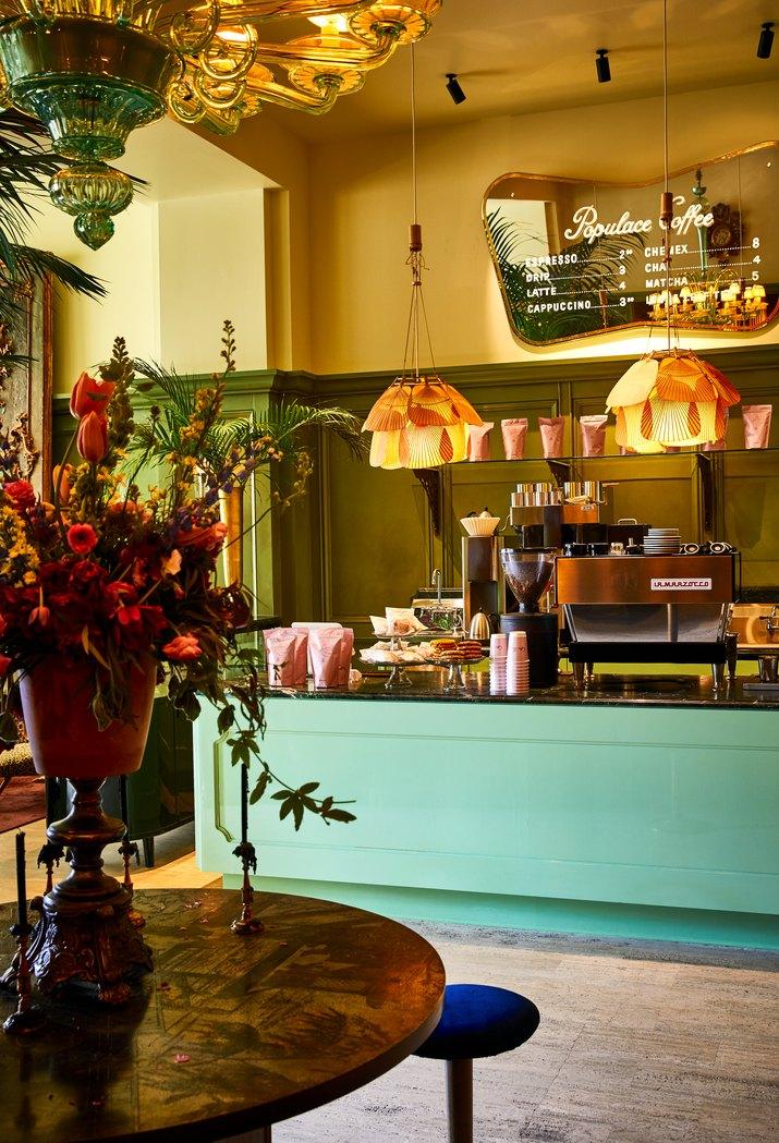 siren hotel detroit Populace Coffee