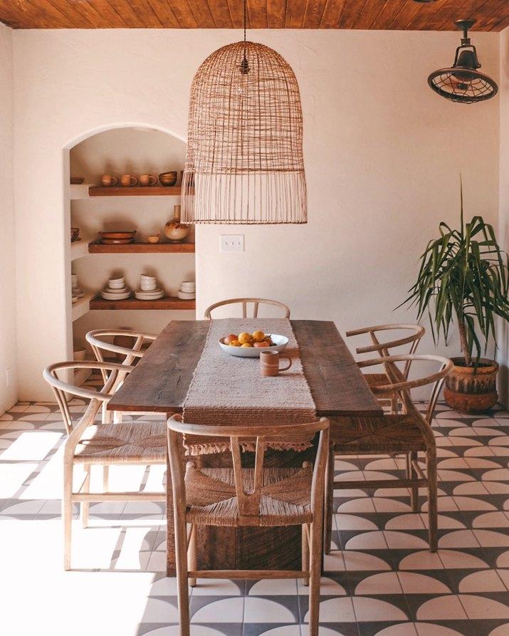 Posada by Joshua Tree House dining room