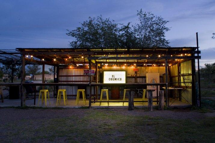 el cosmico hotel in marfa texas