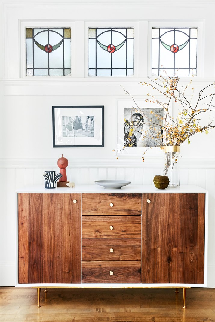 wood credenza