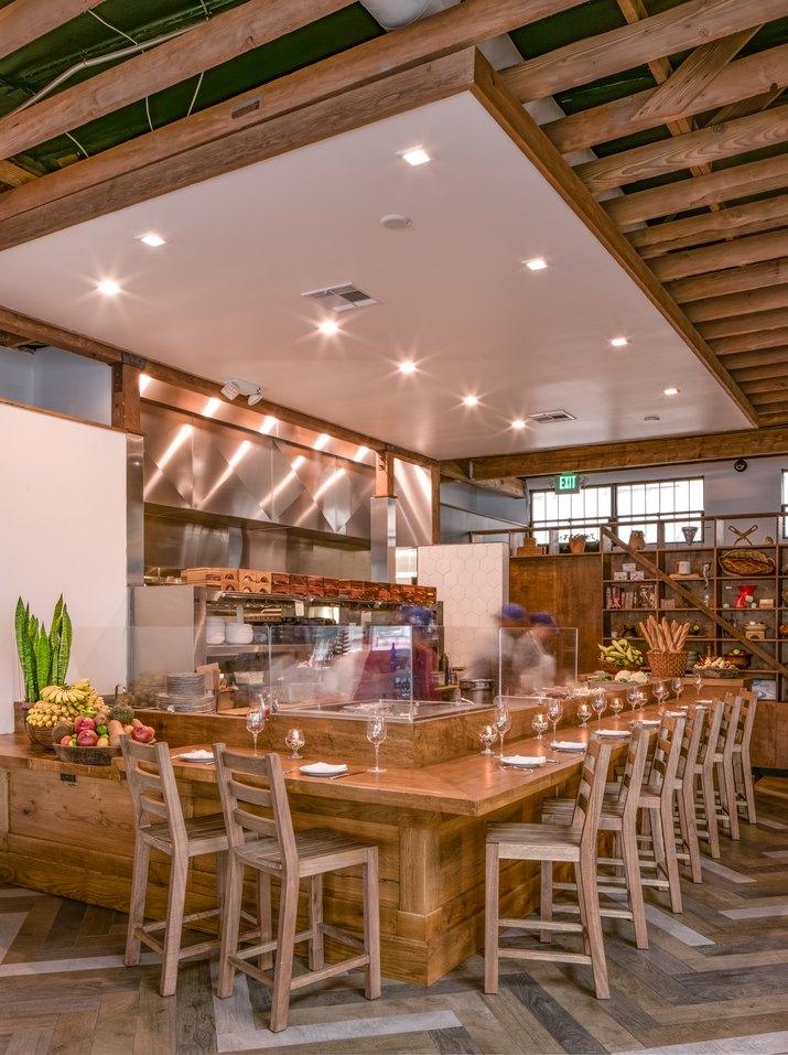 The Mar Vista kitchen.