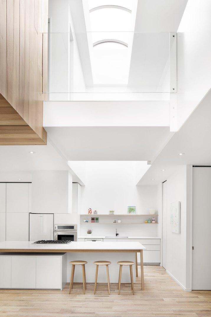 Skylight over kitchen