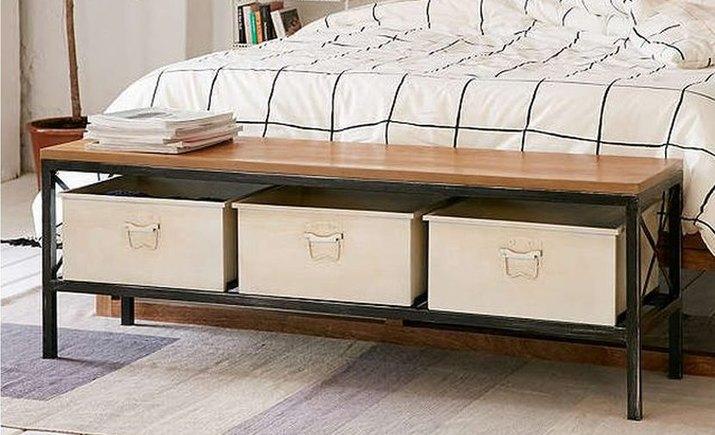 Storage bench organizer