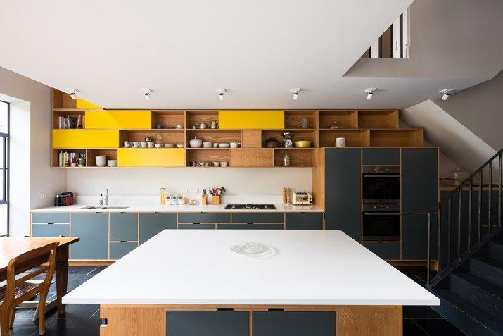 Modernist MW Architects Hampstead Kitchen