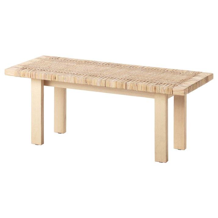 ikea rattan coffee table