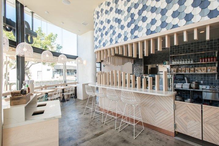 Sweetfin restaurant overview.