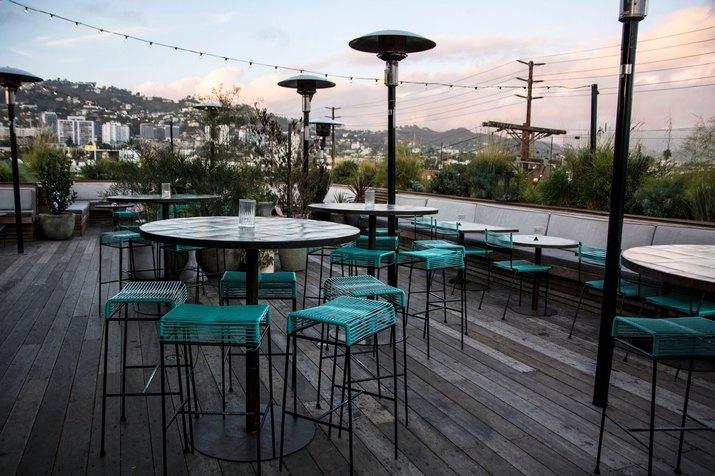 L.P. Rooftop Bar.