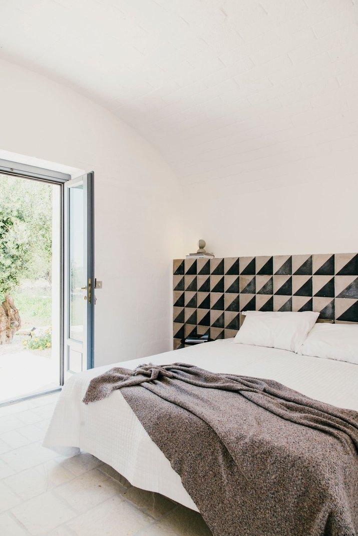 Masseria Moroseta guestroom.