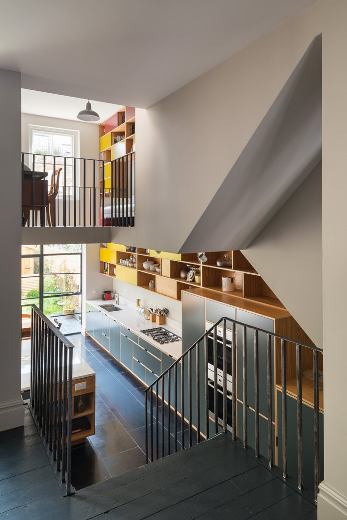 Modernist MW Architects Hampstead Stairs