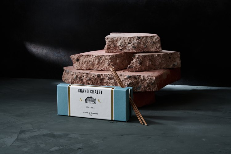 Astier de Villatte Grand Chalet Incense Box, $50