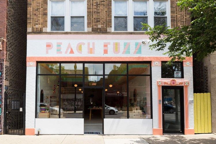 Little Peach Fuzz children's store in Chicago