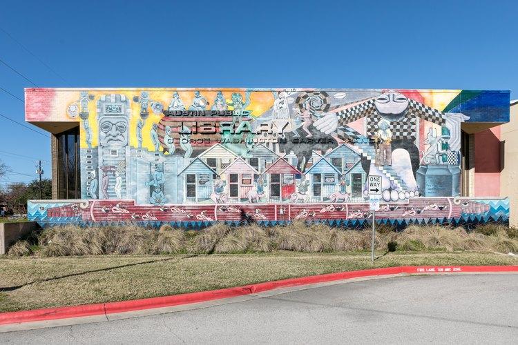 Mural in East Austin