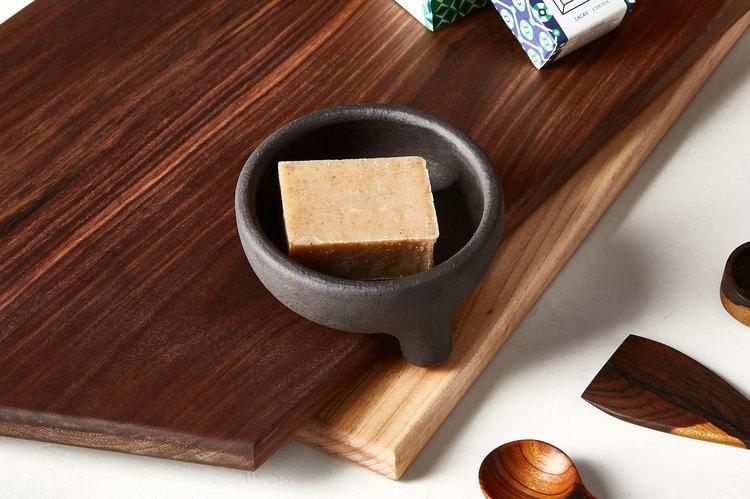 Kim Hau Ceramic Soap Dish, $30