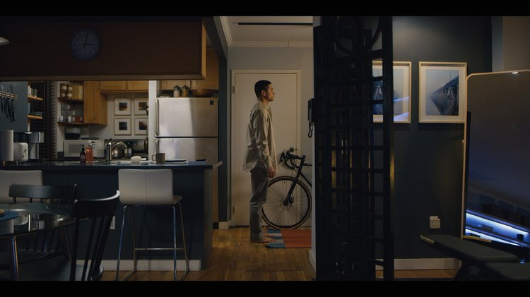 Alan's apartment in Russian Doll