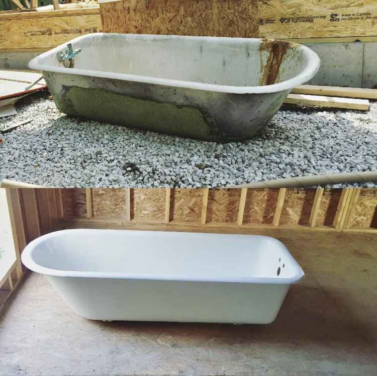 Good Bones: An Historic Clawfoot Tub Is Restored to its Former Glory—and Then Some