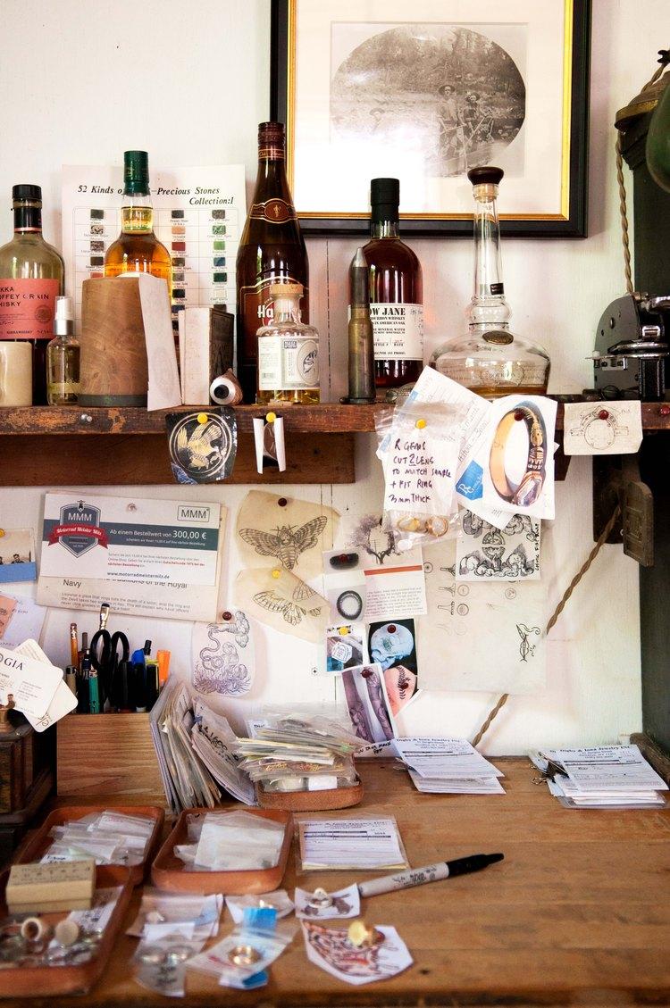 Ruff's desk