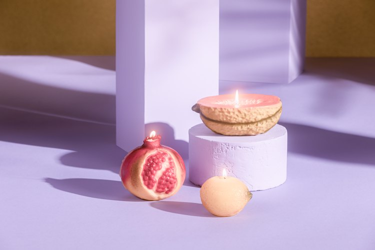 Italian Fruit Candles, $18-$22