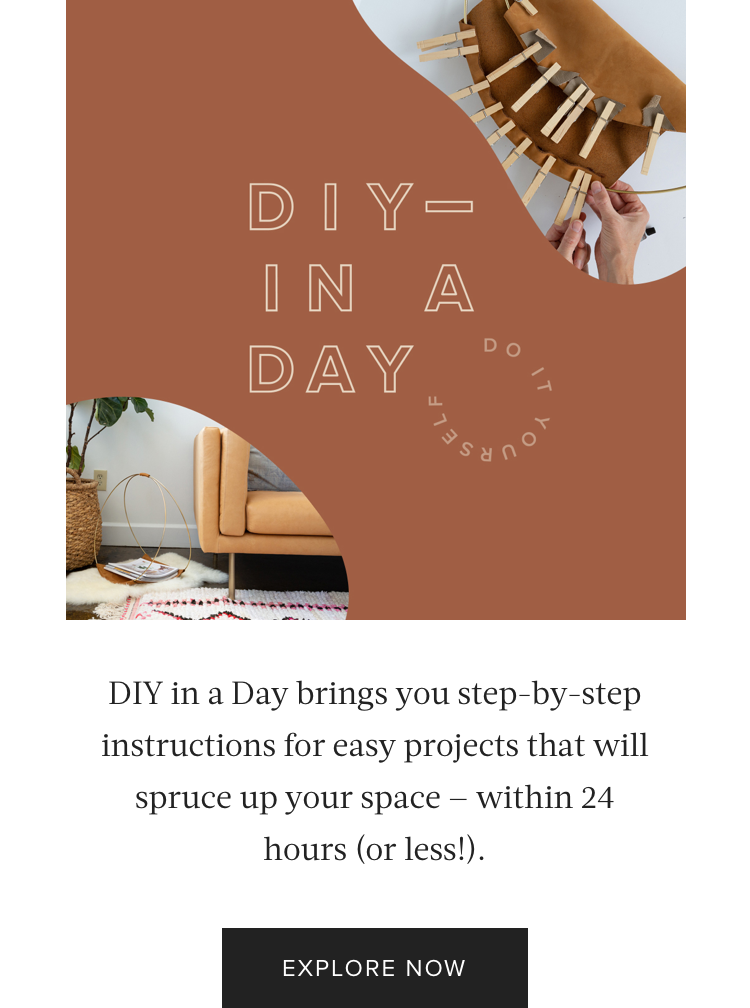 Content Series: DIY in a Day