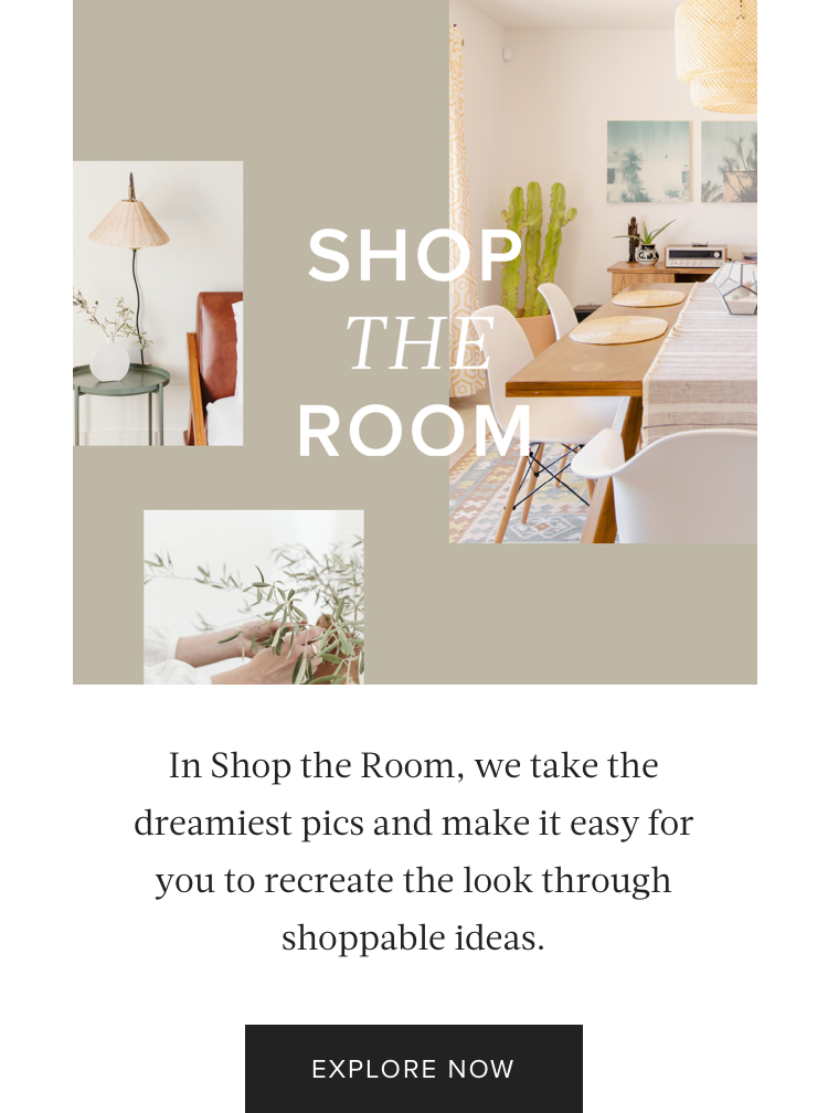 Content Series: Shop the Room