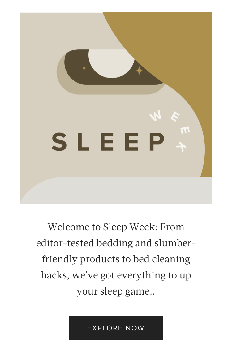 Content Series: Sleep Week