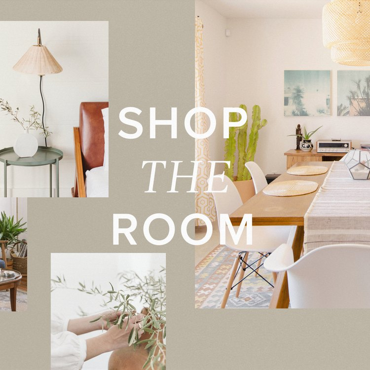 Shop the Room shopping series header