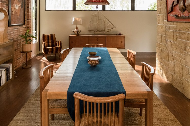 Dining room in the Forever house