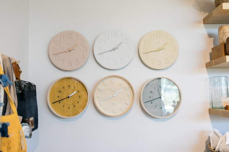 Clocks at Take Heart