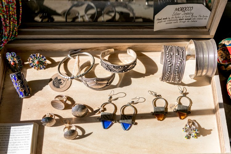 Jewelry at Gadabout Goods