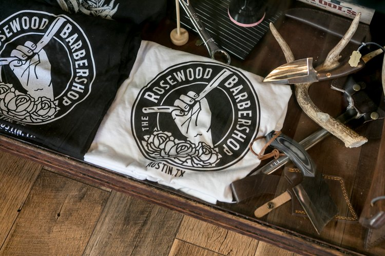 Souvenirs at the Rosewood Barbershop