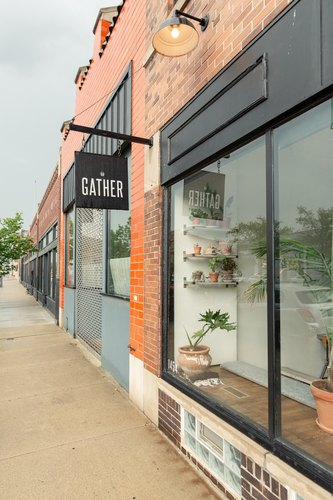 The restaurant Gather on Gratiot Avenue