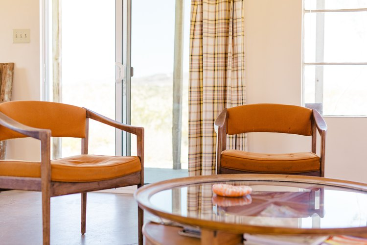 A pair of midcentury chairs at Sonora.