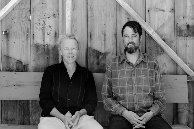Stephanie Smith and Jay Babcock at their Saturn property.