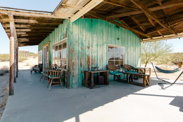 The wrap-around porch at Sonora.