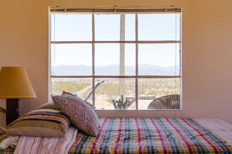 The view from the bed at Sonora.