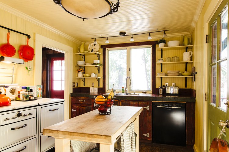 Kitchen at the Magical Cabin