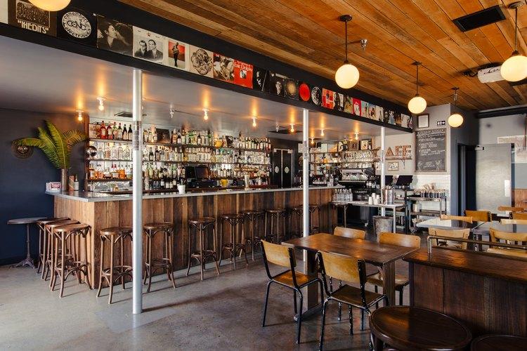 Bar and cafe at Zebulon