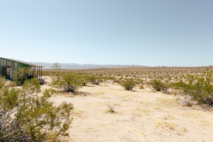 The expansive view looking towards Joshua Tree National Park.